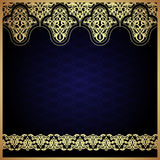 Eastern filigree ornament background. Royalty Free Stock Photography