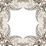 Eastern filigree ornament background. Stock Image