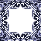 Eastern filigree ornament background. Stock Photo