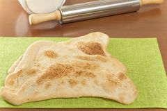 Eastern flatbread sesame Royalty Free Stock Image