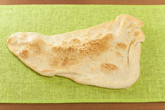 Eastern flatbread sesame Royalty Free Stock Images