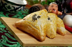 Eastern food samsa Royalty Free Stock Photography