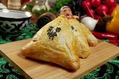 Eastern food samsa Stock Photo