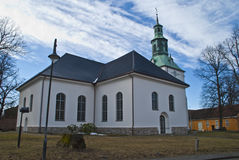 Eastern Fredrikstad Church. Royalty Free Stock Photo