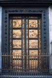 The Eastern Gate of the Baptistery .Gates of Paradise . Florence, Italy. The Eastern Gate of the Baptistery .Gates of Paradise . Florence, Italy Royalty Free Stock Photography