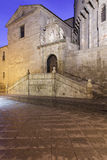 Eastern gate of the Cathedral of Avila Royalty Free Stock Images