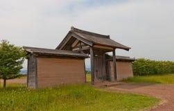 Eastern Gate of Shiwa Castle, Morioka city, Japan Royalty Free Stock Photo