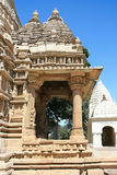 Eastern group of Temples in Khajuraho Stock Photos
