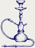 Eastern hookah Stock Photography