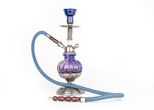 Eastern hookah isolated on white Stock Photography