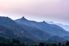 eastern Jinshanling Great Wall Royalty Free Stock Photography