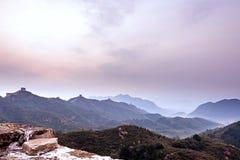 eastern Jinshanling Great Wall Royalty Free Stock Photos