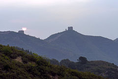 eastern Jinshanling Great Wall Royalty Free Stock Image
