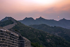 eastern Jinshanling Great Wall Royalty Free Stock Photo