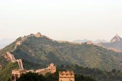 eastern Jinshanling Great Wall Stock Images