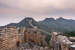eastern Jinshanling Great Wall Stock Photos