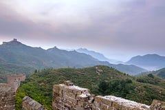 eastern Jinshanling Great Wall Royalty Free Stock Images