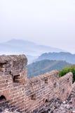eastern Jinshanling Great Wall Stock Image