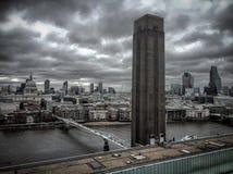 Eastern London skyline. Royalty Free Stock Image