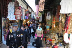 Eastern market in Israel. Royalty Free Stock Image