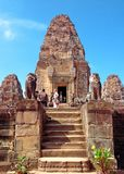 Eastern Mebon temple at Angkor wat complex, Cambodia. Built duri royalty free stock photography