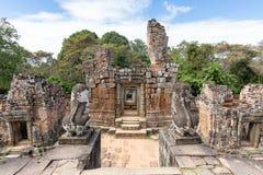 Eastern Mebon temple, Siem Reap, Cambodia, Asia. Eastern Mebon temple, near Siem Reap, Cambodia, Asia royalty free stock photos