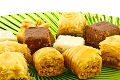 Eastern mediterranean  sweets Stock Photo