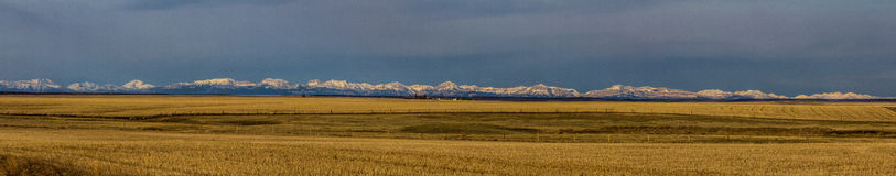 An Eastern Montana Panorama Royalty Free Stock Image