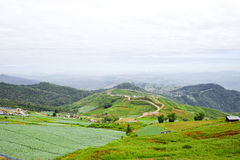 Eastern mountain Landscape in Thailand Royalty Free Stock Photos