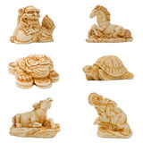 Eastern netsuke Royalty Free Stock Images