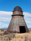 Eastern Oregon beehive burner, teepee burner, wigwam burner Stock Photos