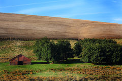 Eastern Oregon Farm Land Royalty Free Stock Photo