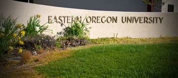 Eastern Oregon University Royalty Free Stock Photos