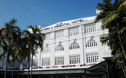 Eastern and Oriental Hotel stock image