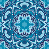 Eastern ornament. Mandala  seamless pattern, vector image Royalty Free Stock Photography