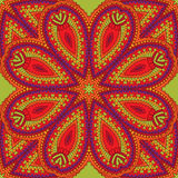 Eastern ornament, seamless pattern. Vector image Royalty Free Stock Photos