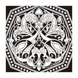 Eastern ornament vector Royalty Free Stock Photo
