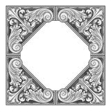 Eastern ornament vector Royalty Free Stock Photography