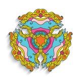 Eastern ornamental geometric pattern Royalty Free Stock Image