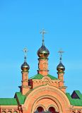 Eastern orthodox cathedral Stock Images