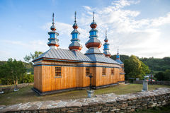 Eastern Orthodox Church in Komancza, Poland Royalty Free Stock Image