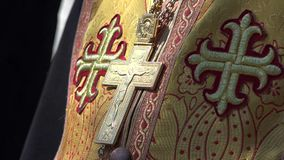 Eastern Orthodox Priest. The Eastern Orthodox Church, officially the Orthodox Catholic Church, is the second-largest Christian church, with approximately 200 stock video footage