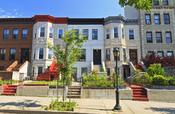 Eastern Parkway Apartment Buildings Stock Photos