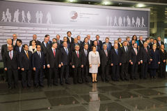 Eastern Partnership Sammit in Riga, 2015 Stock Photo