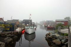 Eastern Passage on foggy day Royalty Free Stock Images