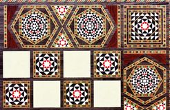 Eastern patterns Royalty Free Stock Images
