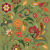 Eastern patterns seamless. Colorful seamless with eastern patterns Royalty Free Stock Image