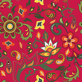 Eastern patterns seamless. Colorful seamless with eastern patterns Royalty Free Stock Photography