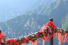 Eastern peak of huashan mountain Stock Images