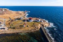 Eastern Point Lighthouse, Cape Ann, Massachusetts Stock Images